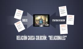 RELACIÓN CAUSA-