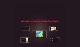 Wiosna Ludów na ziem - gimiach polskich