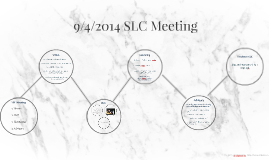9/4/2014 SLC Meeting