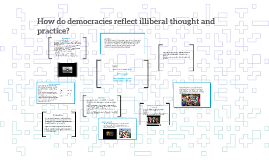 How do democracies reflect illiberal thought and practice?