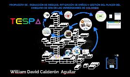 PROPUESTA DE PREVENCIÓN, REDUCCIÓN DE RIESGOS, MITIGACIÓN DE