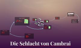 Schlacht von Cambrai