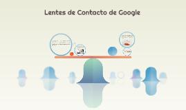 Lentes de Contacto de Google
