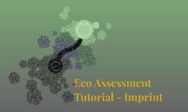 Eco - Assessment Introduction