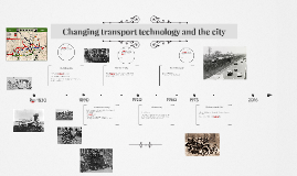 Changing transport technology and the city
