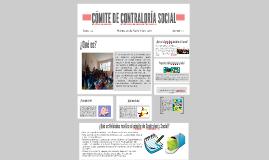 CÓMITE DE CONTRALORÍA SOCIAL