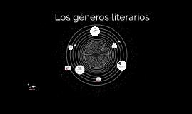 Los géneros literarios.