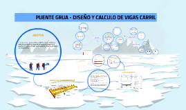Copy of DISEÑO Y CALCULO DE VIGAS CARRIL - PUENTE GRUA