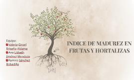 Copy of INDICE DE MADUREZ EN FRUTAS Y HORTALIZAS