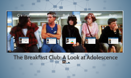 The Breakfast Club: A Look at Adolescence