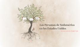 Las Personas de Sudamérica en los Estados Unidos