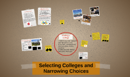 Selecting Colleges