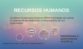 Copy of LA EVOLUCIÓN DE LOS RECURSOS HUMANOS