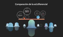 Comparacion de la ed.diferencial