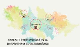 CAUSAS Y CONSECUENCIAS DE LA INDEPENCIA DE