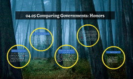 04.05 Comparing Governments: Honors