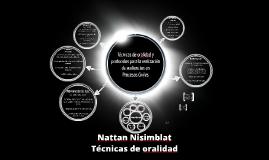 Copy of Copy of Técnicas de oralidad - Nattan Nisimblat