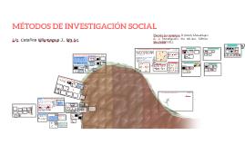 MÉTODOS DE INVESTIGACIÓN SOCIAL