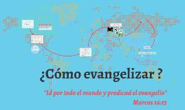 Copy of Evangelismo para jóvenes de la ciudad