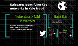 KaleGate: Identifying Key Networks in Kale Fraud