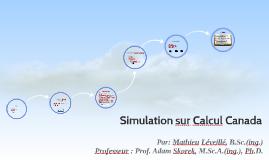 Copy of Simulation sur Calcul Canada