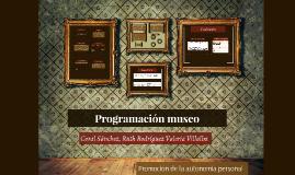 Programación museo