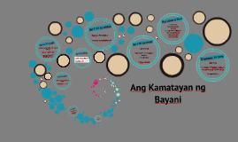 Ang Kamatayan  ng Bayani