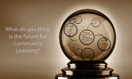 What do you think is the future for Community Learning?