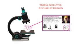 TEORÍA DE LA EVOLUCIÓN DE LAS ESPECIES DE CHARLES DARWIN