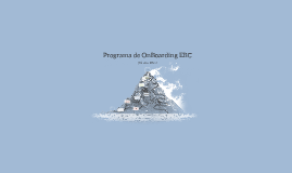 Programa de OnBoarding EBC