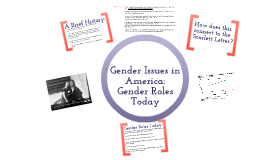 gender roles today - centuries of traditions has enabled men and women to define gender roles in society although some critics declare gender roles do not exist today, .