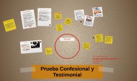Prueba Confesional y Testimonial