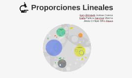 Proporciones Lineales