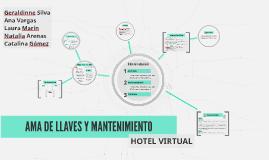 AMA DE LLAVES Y MANTENIMIENTO