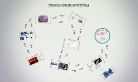 Copy of TEORÍA QUIMIOSINTÉTICA
