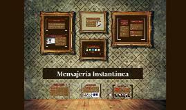Mensajeria Instantanea