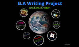 ELA Writing and Comic Project