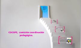 COCOPE,  comisión coordinación pedagógica.