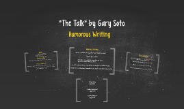 """""""The Talk"""" by Gary Soto"""