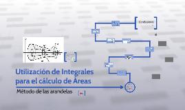 utilizacion de integrales para el calculo de areas