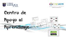 Copy of Copy of Centro de Apoyo al Aprendizaje (CAP)