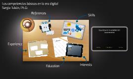Las competencias básicas en la era digital