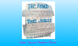 Copy of Streets and Open Spaces