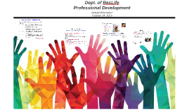 Dept. of ResLife Professional Development