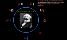 Historisk person - Karl Marx