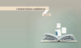 Características cualitativas de la información