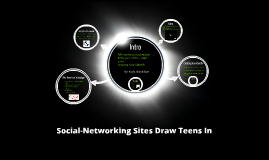 Social-Networking Sites Draw Teens In