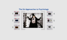 The Six Approaches to Psychology