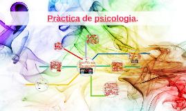 Pràctica de psicologia.