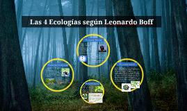 Copy of Las 4 Ecologías según LEonardo Boff
